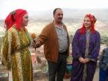 Lors du voyage au Maroc qui a précédé
